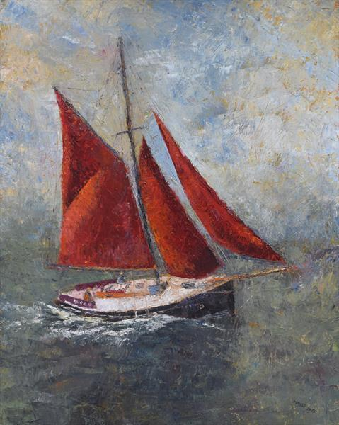 Red Sails by Jeremy Mayes
