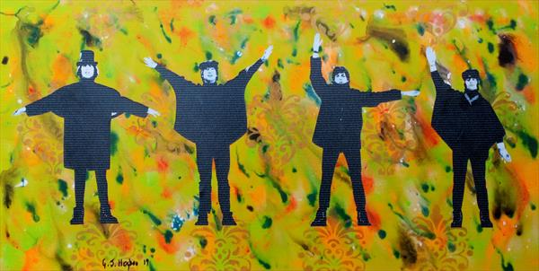 Literally The Beatles - Help #2 by Gary Hogben