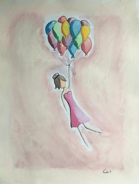 Float Away  by Kadie Stebbing