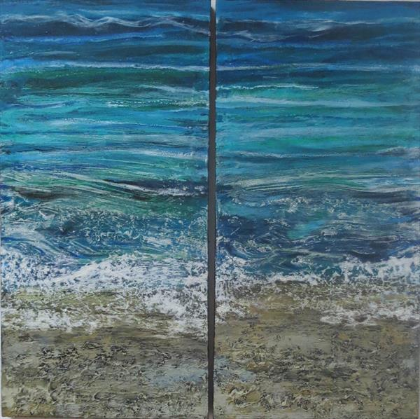 Sea and Sand 2 by Roz Edwards