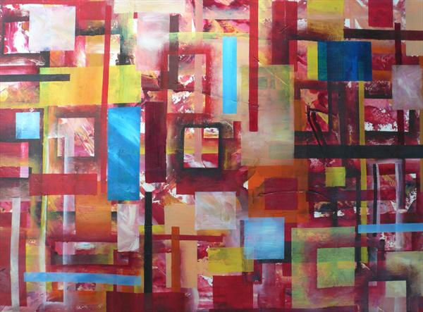 Abstract Rectangles by Wendy McIlroy