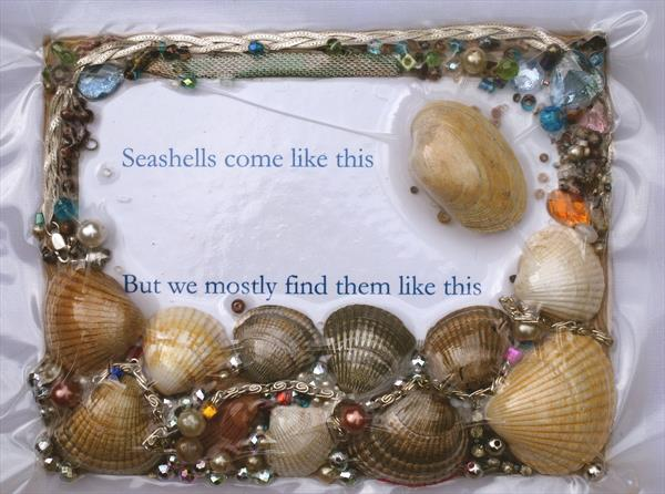 Seashells come like this - 2 by Marcus Clarke
