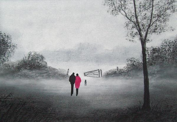 Misty Morning 2# by Patricia Richards