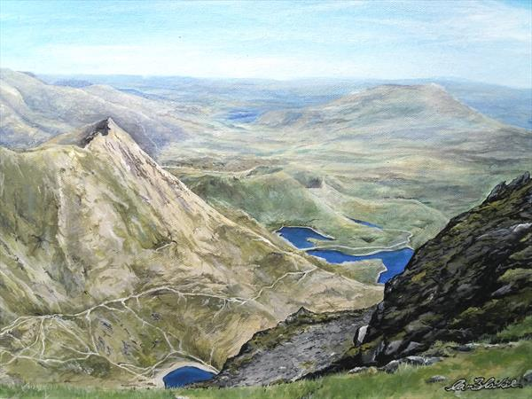 Snowdon's View by Ian Blaikie