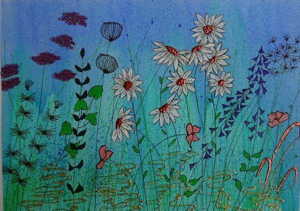 Daisies by Sue Walters