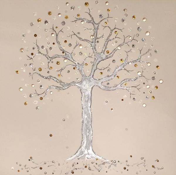 Shimmering Tree by Tracy Jolly