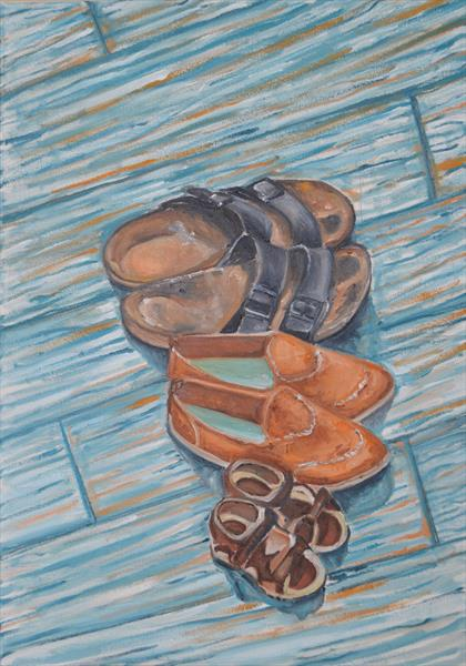 Family Shoes by Melissa Pentney