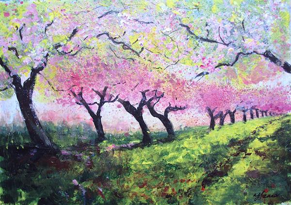 In the Spring Orchard