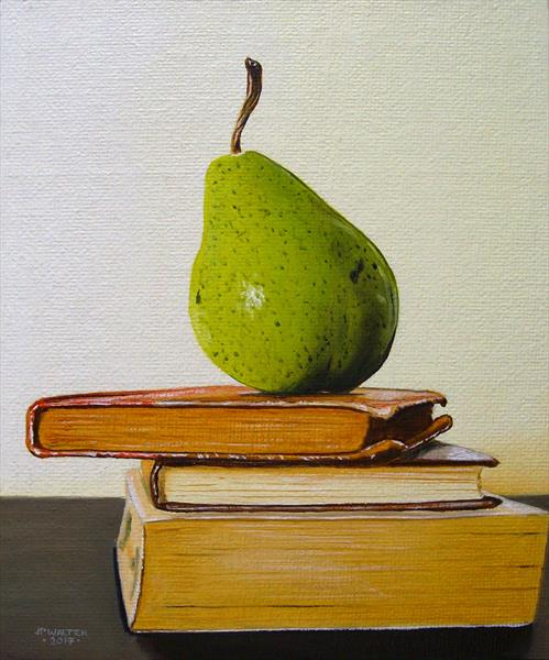 Pear at the top by Jean-pierre Walter