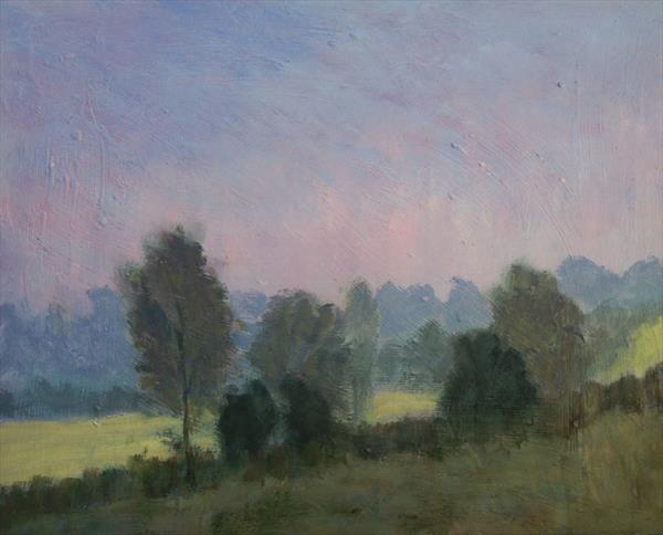 Misty Early Light, Spring by Nikki Wheeler