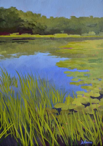 Bosherston Lily Ponds by Dawn Harries