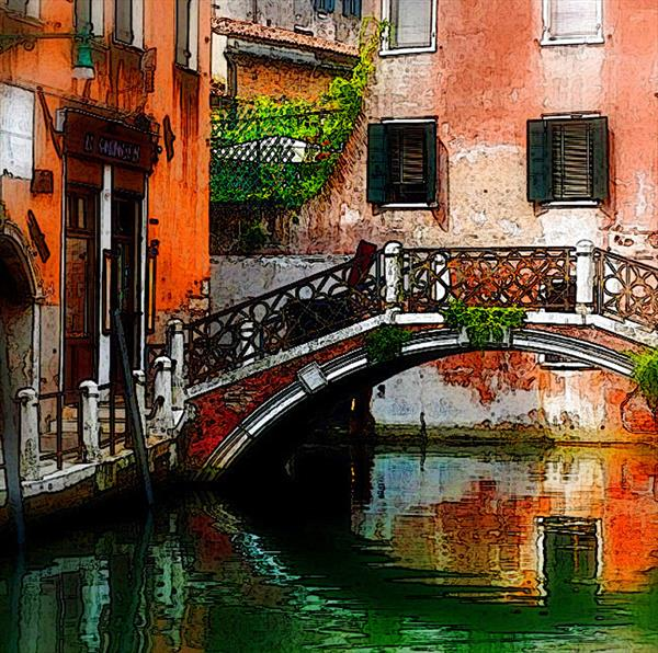VENICE (LIMITED EDITION 1-10) by Peter Holzapfel