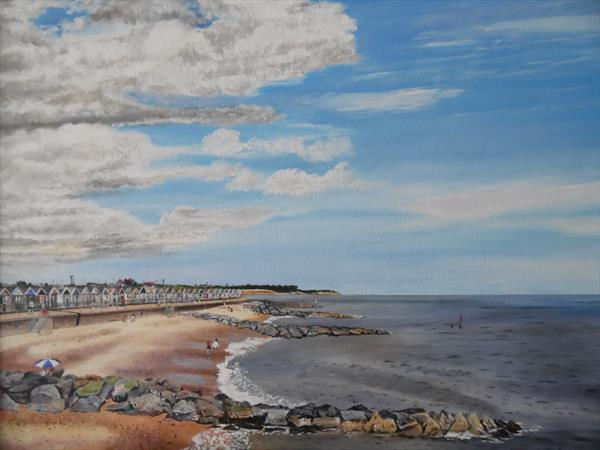 Southwold Beach by Philip Smith