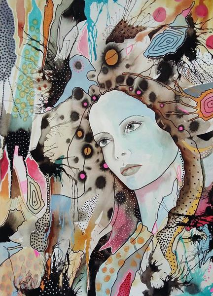 Dreamy Woman by Bea  Roberts