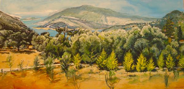 Turkey Landscape by Patricia Clements