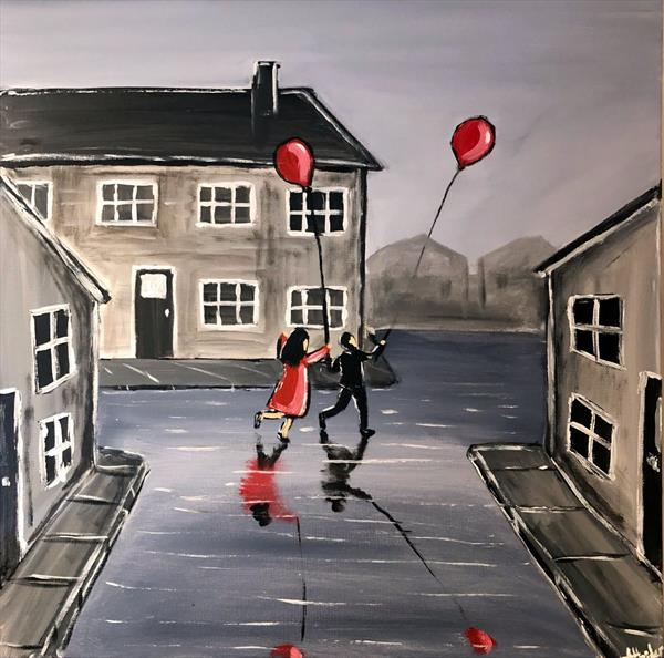 Our Red Balloon by Aisha Haider
