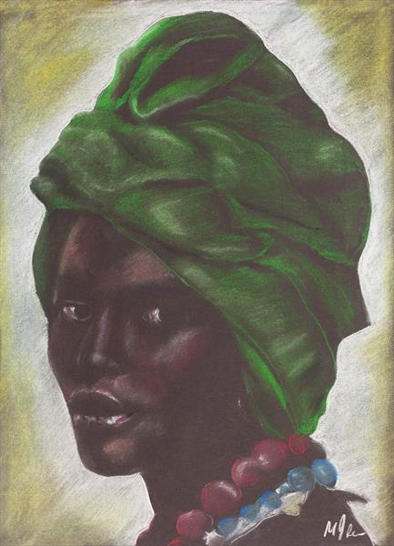 African Face 5 by Mike Isaac