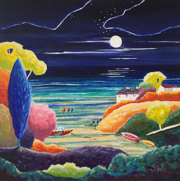 Bay by Moonlight by Suzie Wainman