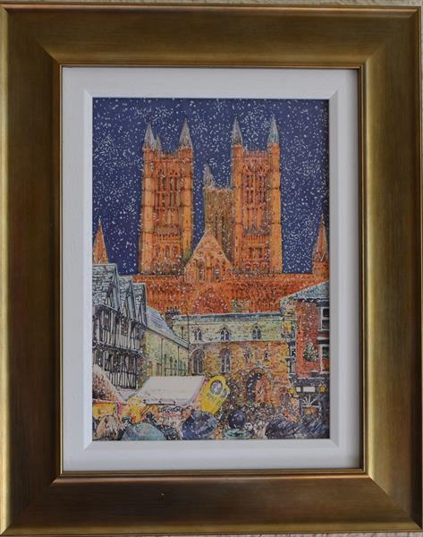 The Christmas Market, Lincoln by Carl Paul