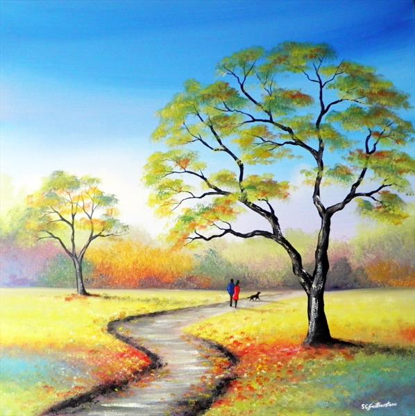 September Walk by Sarah Featherstone