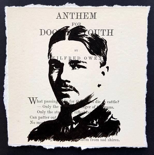 WILFRED OWEN - ANTHEM FOR DOOMED YOUTH (Framed)