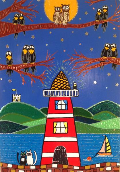 The Lighthouse  by Julie Stevenson