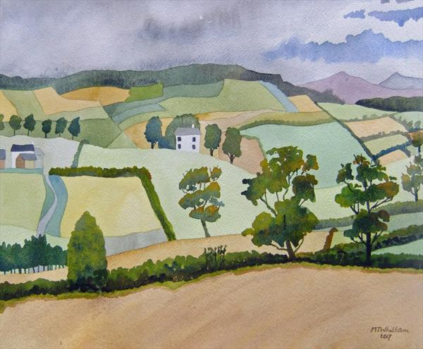 The Vale of Clwyd by Martin Whittam