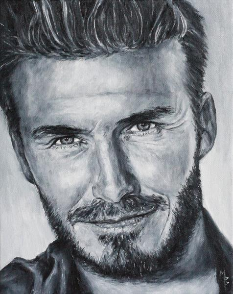 David Beckham by Mark Barrable