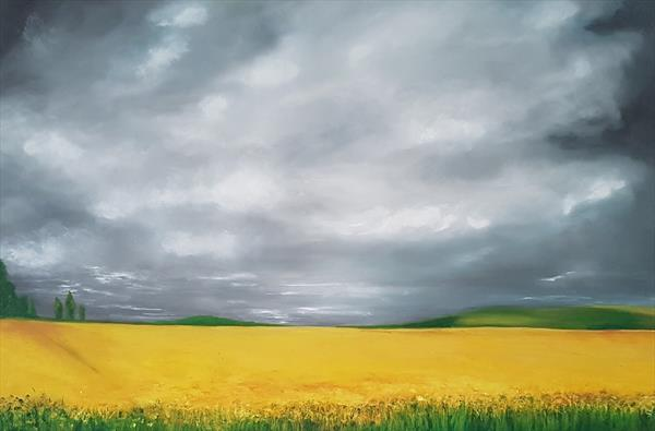 Yellow Hampshire  by Joanne Vincent