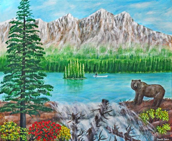 Rocky Mountains In The Spring by Ronald Haber