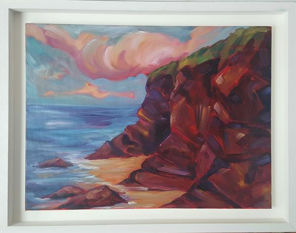 The Colourful Cliffs of Rocky Cove, Cork by niki purcell