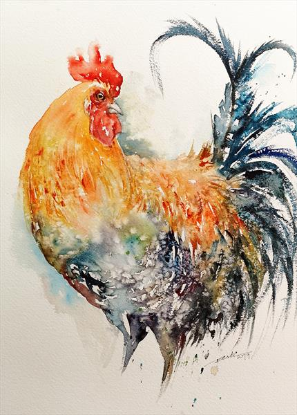 Morgan the Rooster by Arti Chauhan