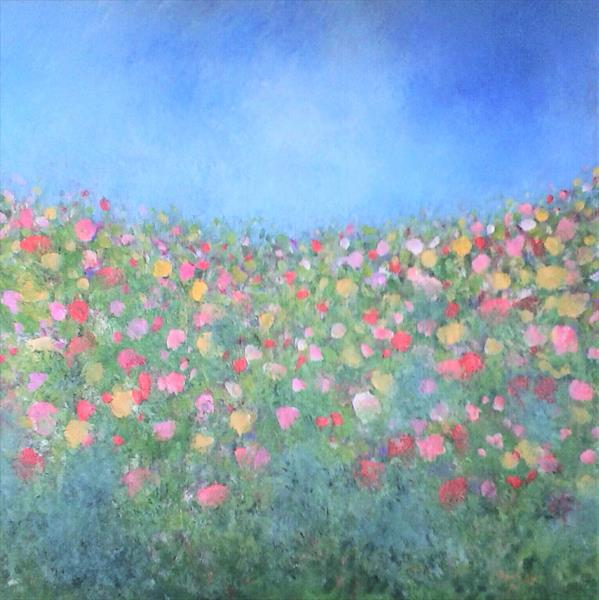 Spring Meadow by Jan Rippingham