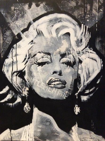 Marilyn Monroe by sharon coles