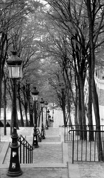 STEPS OF MONTMARTRE (LIMITED EDITION 1-10) by Peter Holzapfel