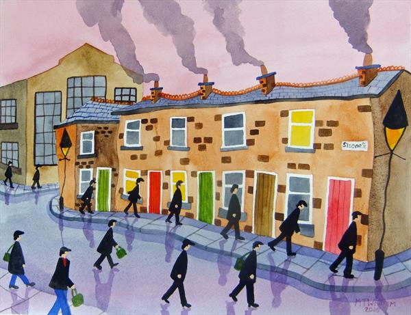 The Old Iron Works by Martin Whittam