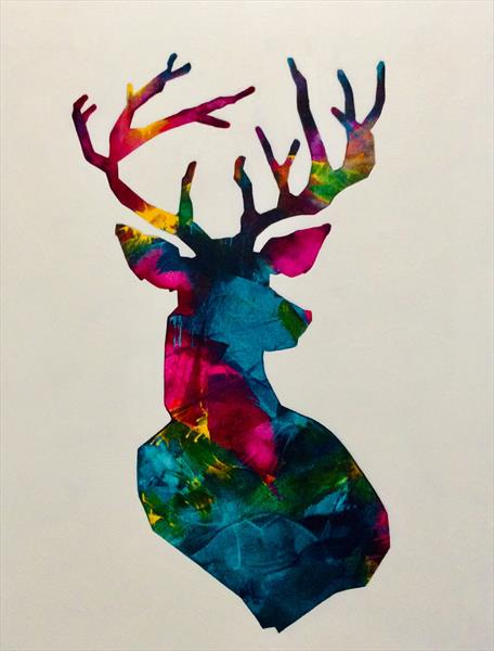 Stag by sharon coles