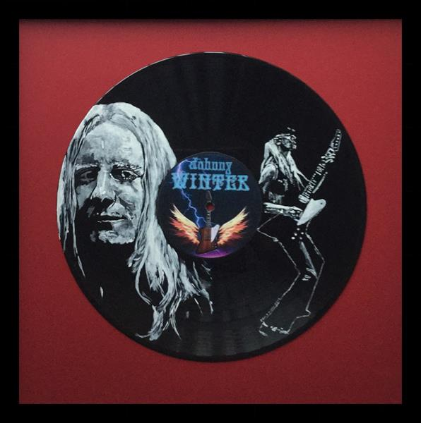 Johnny Winter by David King