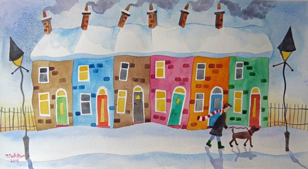 Its A Snow Day by Martin Whittam