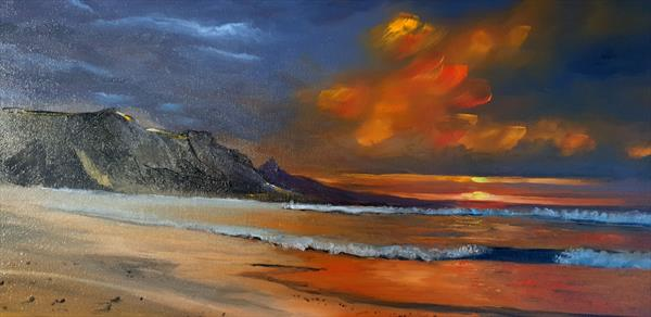Blazing Beach by Stephen Randall