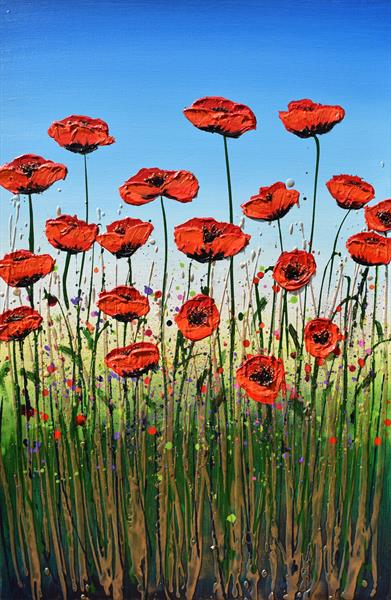 Poppy Crossing by Amanda Dagg
