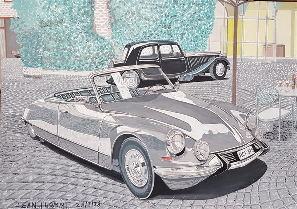 1966 Citroen DS Convertible by Jean L'Homme