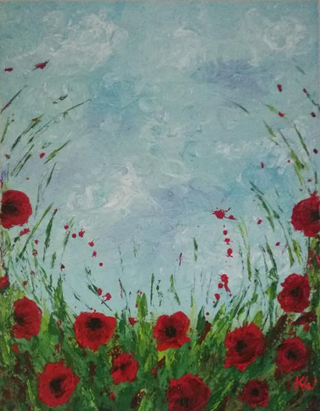 Poppies by Kelly  White
