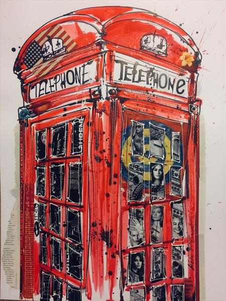 Phonebox collage by Keith Mcbride