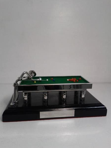 Snooker Table Sculpture by Malcolm Hull