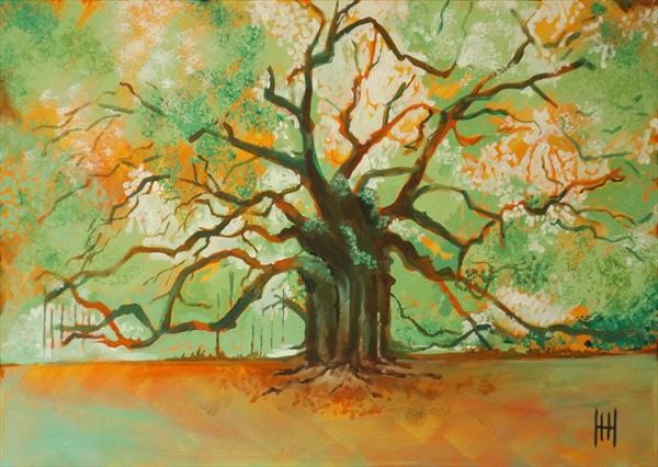 Sherwood Forest Oak by Humph Hack