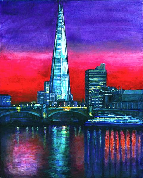 The Shard London by Patricia Clements