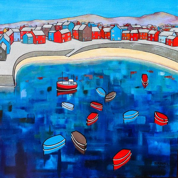 Blue Bay Boats by Paul Bursnall