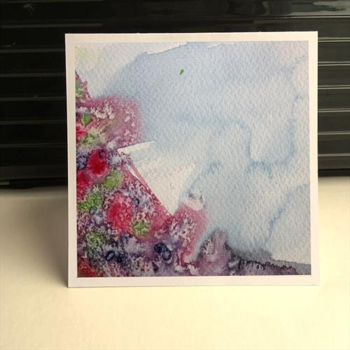 'Heathered Climb' set of five greeting cards. by Iso Bella