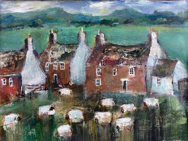 SHEPHERDS COTTAGES by Roma Mountjoy